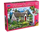 Holdson - 500XL Piece Blossom Borders - Lochside Cottage-jigsaws-The Games Shop