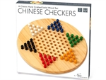 Chinese Checkers - Wooden board and pegs-traditional-The Games Shop