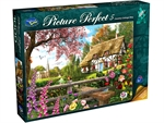 Holdson - 1000 Piece Picture Perfect 5 - Cottage Way-jigsaws-The Games Shop