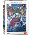 Eurographics - 1000 Piece - Chagall, Blue Violinist-jigsaws-The Games Shop