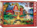 Eurographics - 1000 Piece - Campfire by the Barn-jigsaws-The Games Shop