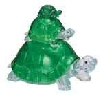3d Crystal Puzzle - Turtles-mindteasers-The Games Shop