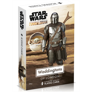 Playing Cards - Waddingtons - Star Wars The Child, Mandalorian