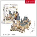 Cubic 3D - Harry Potter - Hogwarts Great Hall-construction-models-craft-The Games Shop