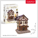 Cubic 3D - Harry Potter - Quidditch Supplies 78pce-construction-models-craft-The Games Shop