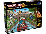 Wasgij Original - #33 Calm on the Canal-jigsaws-The Games Shop