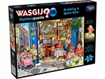 Wasgij Mystery - #18 Grabbing a Quick Bite-jigsaws-The Games Shop
