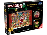 Wasgij Xmas - #15 Santa's Unexpected Delivery-jigsaws-The Games Shop