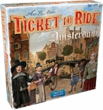 Ticket to Ride - Amsterdam-board games-The Games Shop