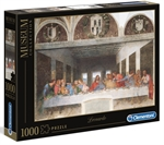 Clementoni - 1000 Piece Museum - Leonardo Da Vinci Last Supper-jigsaws-The Games Shop