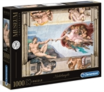 Clementoni - 1000 Piece Museum - Michelangelo The Creation of Man-jigsaws-The Games Shop