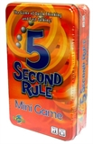 5 Seceind Rule - Mini Game in a Tin-board games-The Games Shop