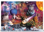 Fred - 1000 Piece - Galaxy Cats-jigsaws-The Games Shop