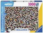 Ravensburger - 1000 Piece Disney Challenge - Mickey & Friends-jigsaws-The Games Shop