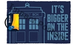 Door Mat - Dr Who Bigger on the Inside-quirky-The Games Shop