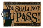 Door Mat - Lord of the Rings Shall not Pass-quirky-The Games Shop