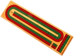 Cribbage - 2 Track Coloured-traditional-The Games Shop