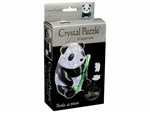 3D Crystal Puzzle - Panda-jigsaws-The Games Shop