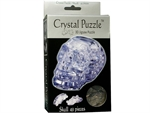 3D Crystal Puzzle - Clear Skull-jigsaws-The Games Shop