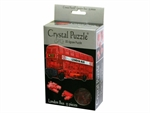 3D Crystal Puzzle - London Bus-jigsaws-The Games Shop