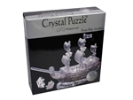 3D Crystal Puzzle - Pirate Ship-young at heart-The Games Shop
