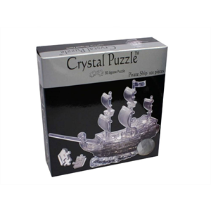 3D Crystal Puzzle - Pirate Ship