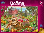 Holdson - 300 piece Gallery 4 - Cat on the Farm-jigsaws-The Games Shop