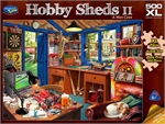 Holdson - 500 piece Hobby Shedds II - A Man Cave-jigsaws-The Games Shop